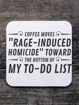 It doesn't drop off the list entirely, but a good roasted blend does move it down